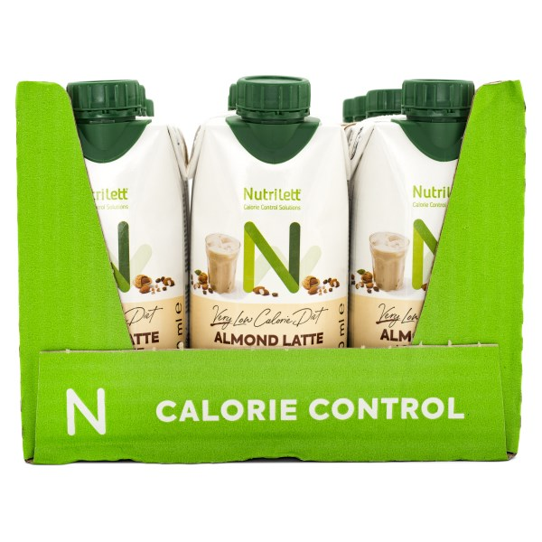 Nutrilett VLCD Smoothie Ice Coffee Almond Latte 12-pack