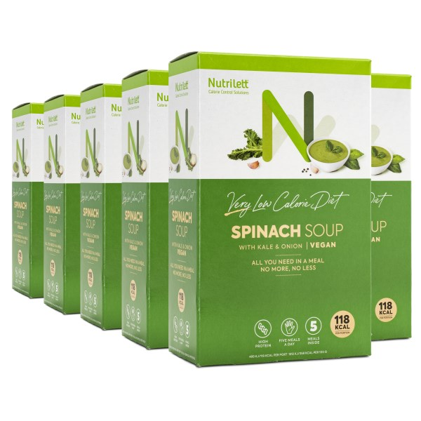 Nutrilett VLCD Soup Spinach 6-pack