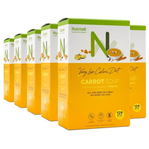 Nutrilett VLCD Soup Carrot 6-pack