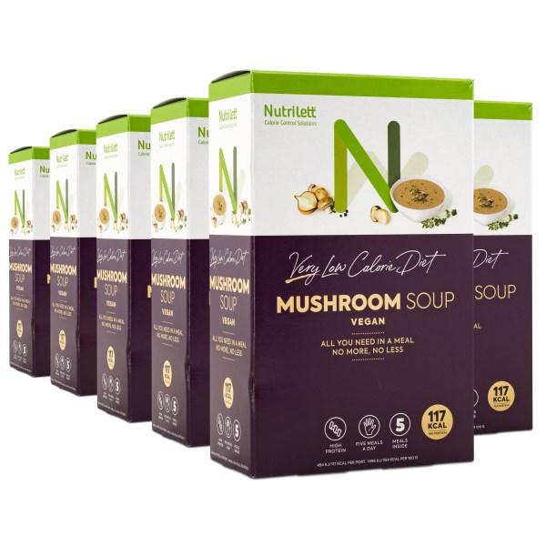 Nutrilett VLCD Soup Mushroom 6-pack