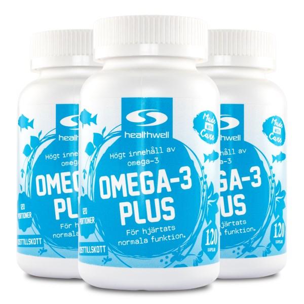 Omega-3 Plus 360 kaps