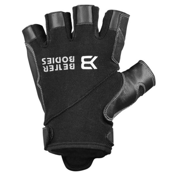 Better Bodies Pro Gym Gloves Black/Black