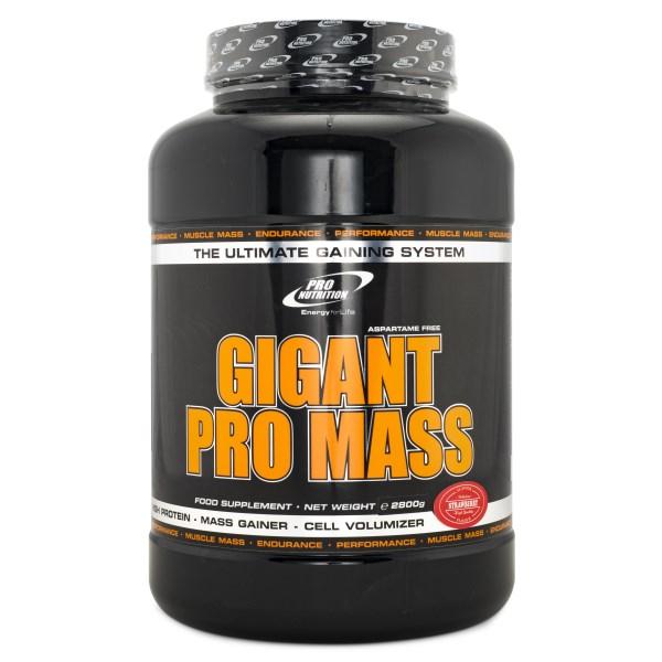 Pro Nutrition Gigant Pro Mass Jordgubb 2,8 kg