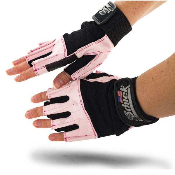 Schiek Womens Gel Gloves M Pink