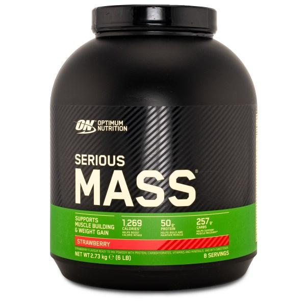 Serious Mass Jordgubb 2722 g