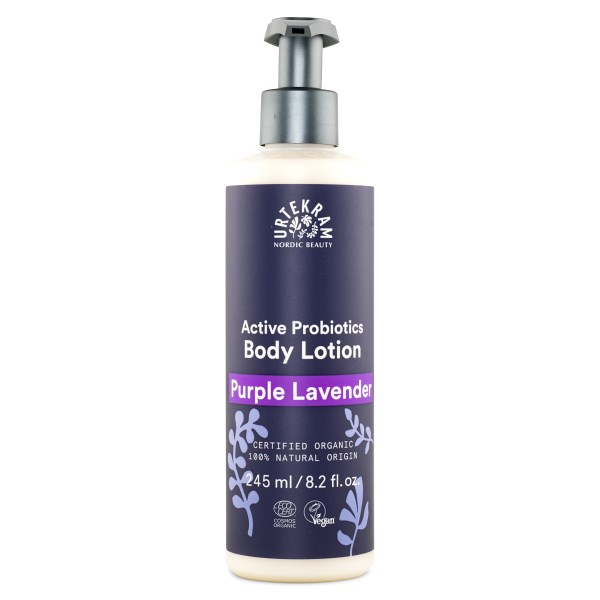 Urtekram Purple Lavender Body Lotion Eko 245 ml