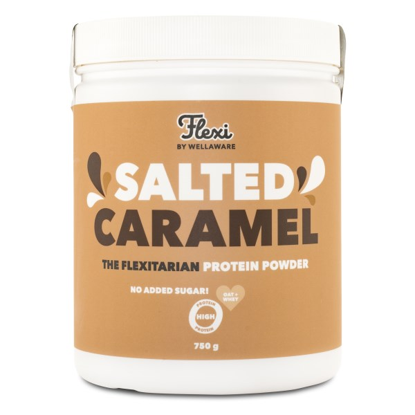 WellAware Flexi Proteinpulver 750 g Salted Caramel