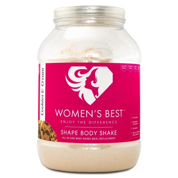 Womens Best Shape Body Shake Cookie & Cream 1 kg