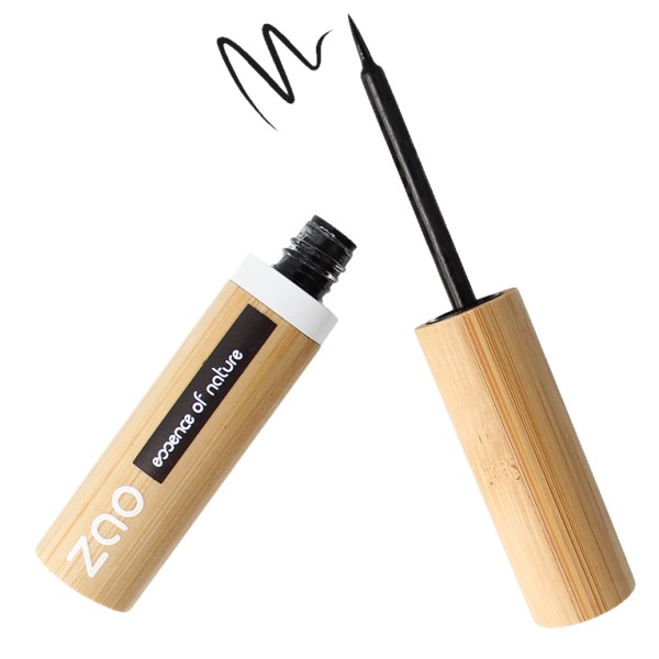 Zao Eyeliner Brush Tip 4,5 g Black