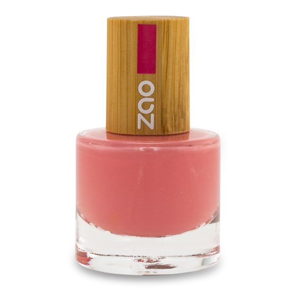 Zao Nagellack 8 ml Hot pink
