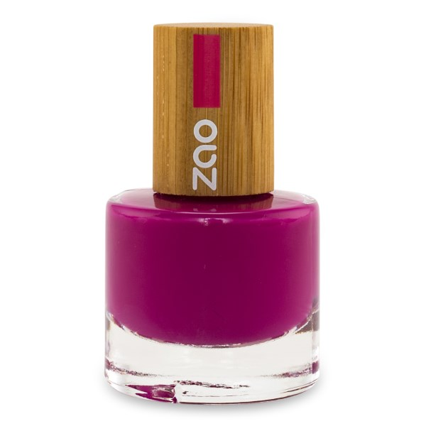 Zao Nagellack 8 ml Fuschia