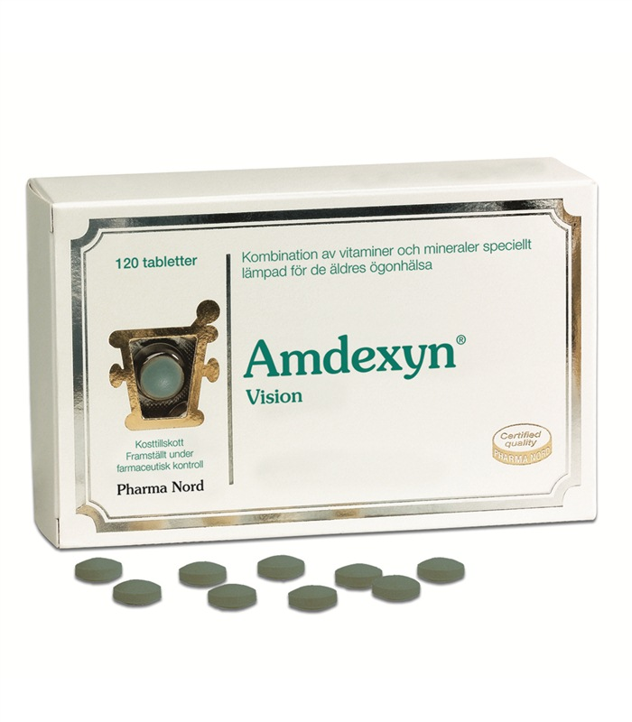 Amdexyn Vision, H�lsokost - Pharma Nord