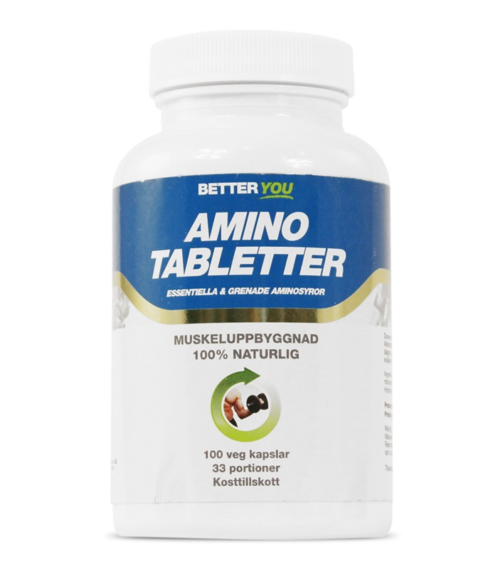 Better You Amino Tabletter, Kondition & Uthållighet - Better You