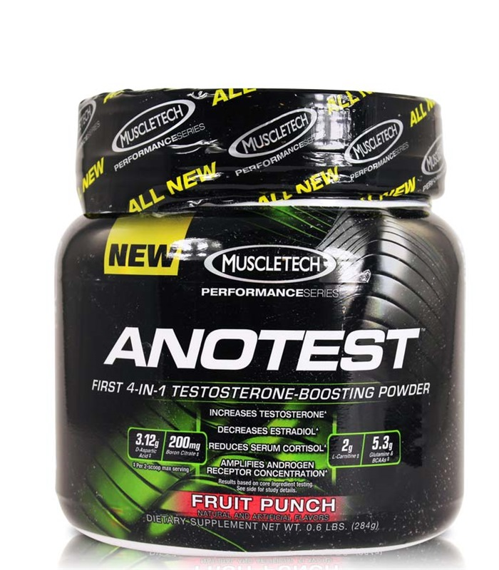 Anotest, Muskelbyggande & Prestation - MuscleTech