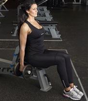 Sittande bicepscurl start