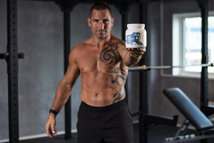 Peter Blaha med Core Preload + BCAA