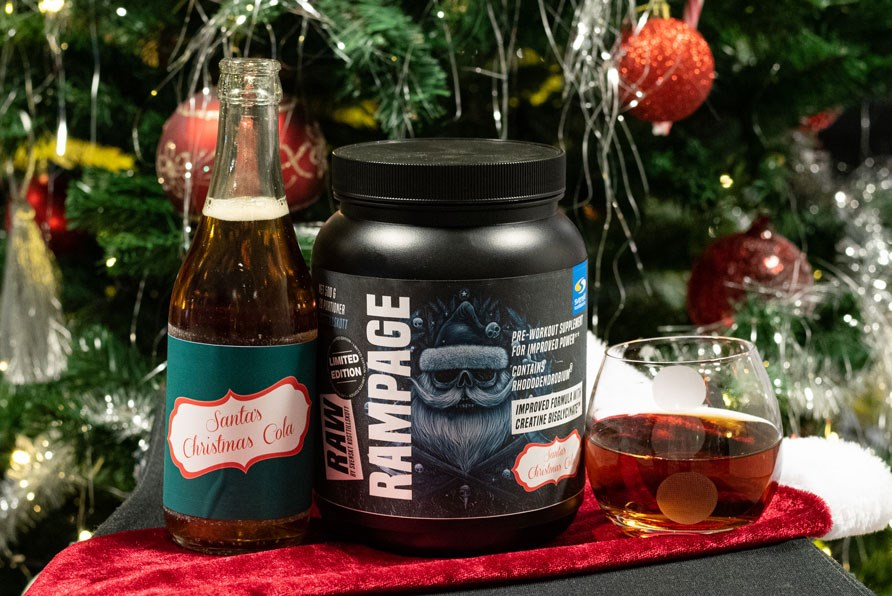 RAW Rampage Santa's Christmas Cola - Limited Edition för vintern 2019