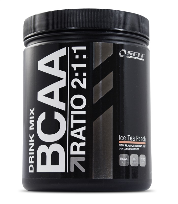 Self Omninutrition BCAA Drink Mix, Muskelbyggande & Prestation - Self Omninutrition