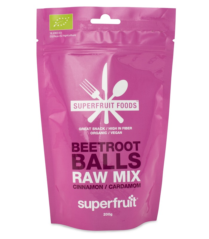 Beetroot Balls Raw Mix, H�lsa & Livsmedel - Superfruit
