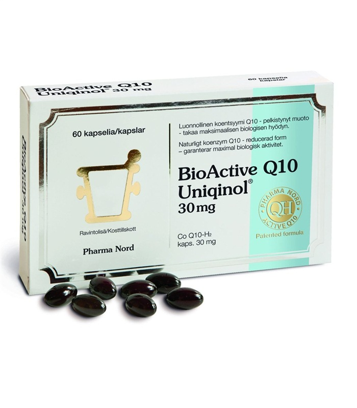 Bio-Active Uniqinol Q10, Prestationsh�jande - Pharma Nord