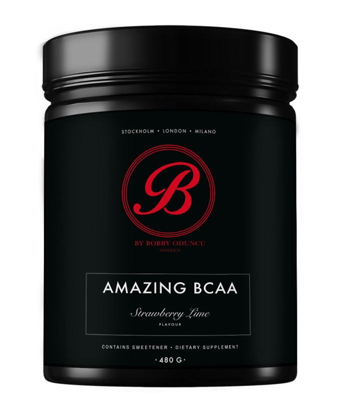 By BOBBY Amazing BCAA, Muskelbyggande & Prestation - Self Omninutrition