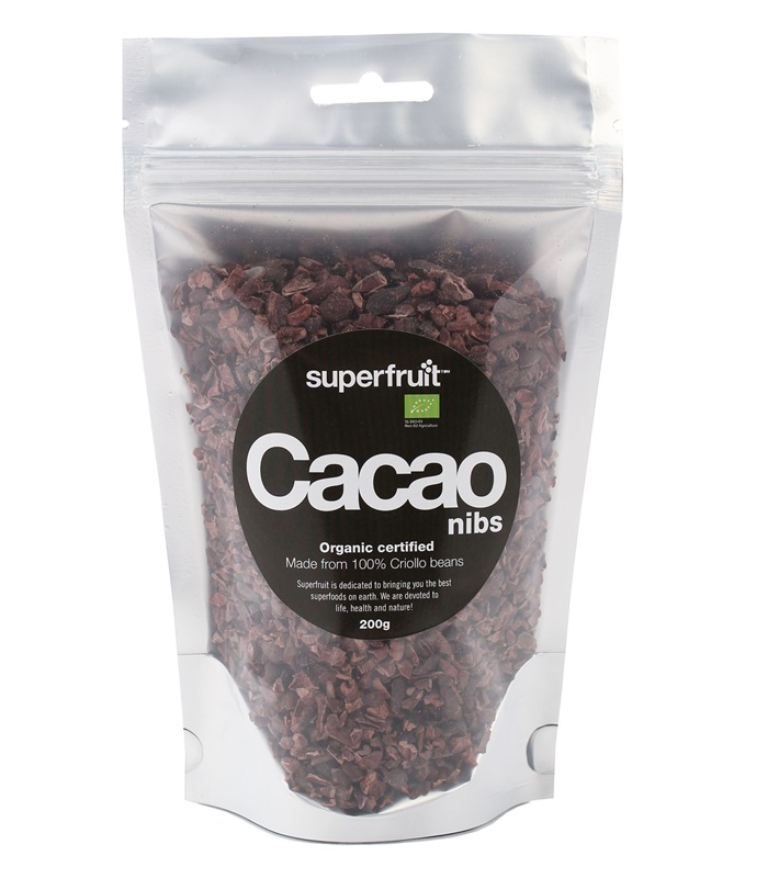 Cacao Nibs, Hälsokost - Superfruit