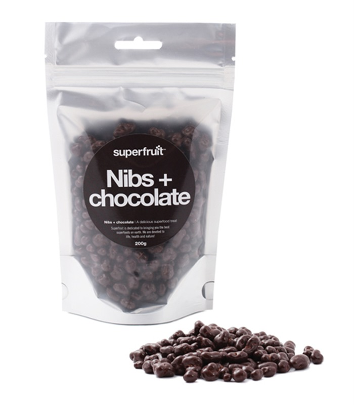 Cacao Nibs + Chocolate, Hälsokost - Superfruit