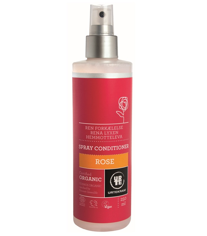 Urtekram Rose Spray Conditioner, Kroppsvård & Skönhet - Urtekram