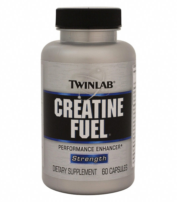 Creatine Fuel Caps, Prestationshöjande - Twinlab