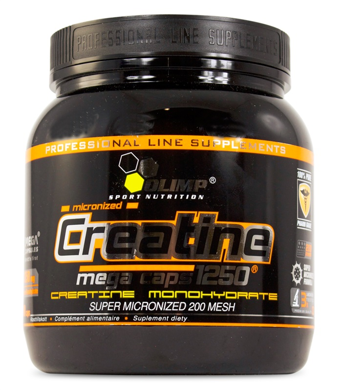 Creatine Mega Caps, Prestationshöjande - Olimp