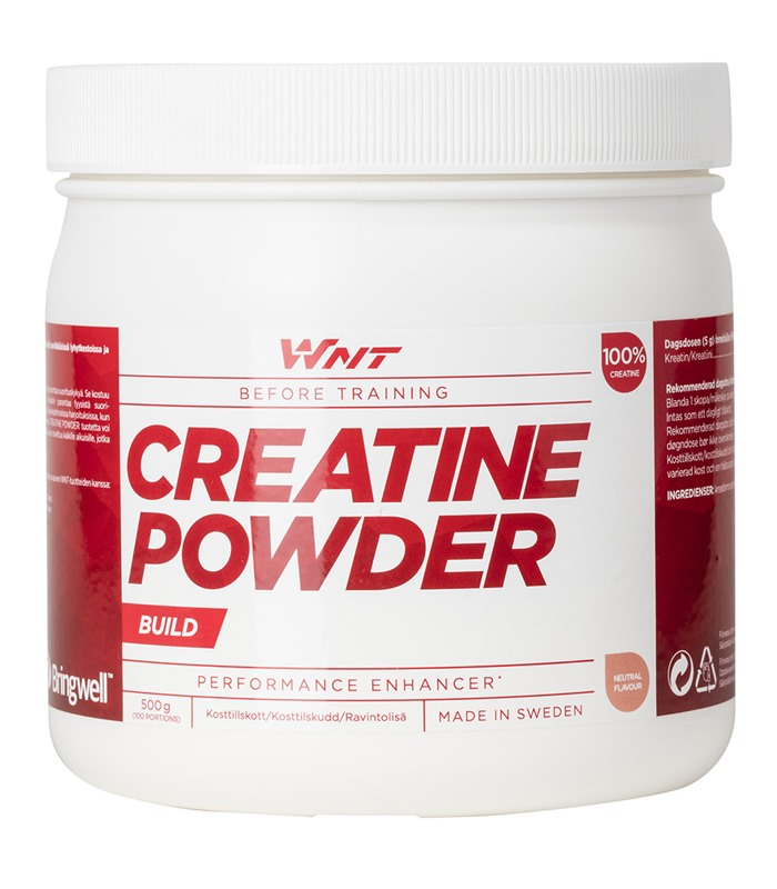 WNT Creatine Powder, Kondition & Uthållighet - WNT