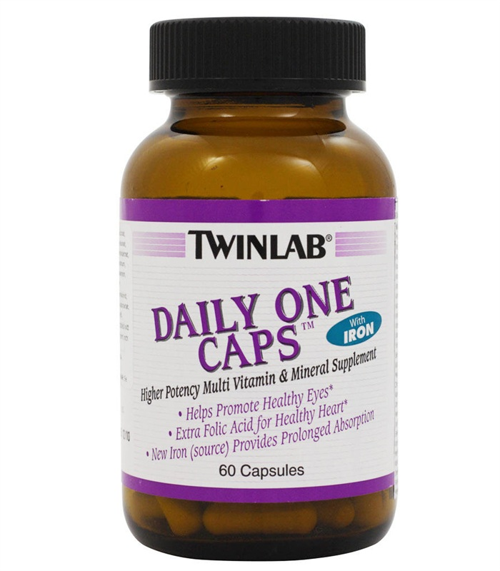 Daily One, Vitaminer och mineraler - Twinlab
