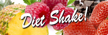 Diet Shake finns i flera olika goda smaker.