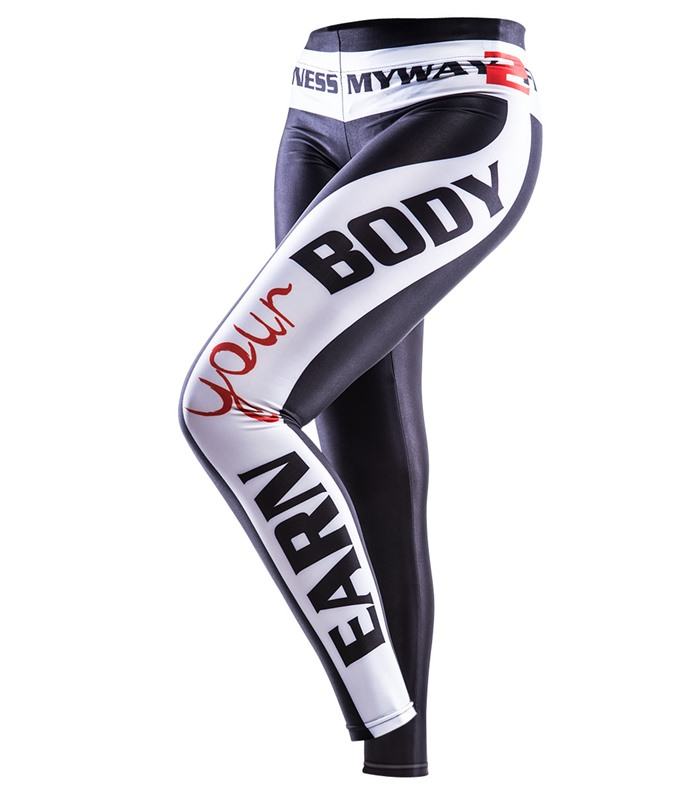 Earn Your Body Leggings, Tr�ningskl�der & Tillbeh�r - Myway2fitness