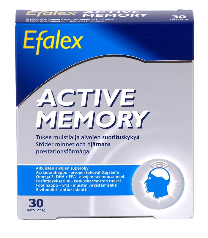 Efalex Active Memory, H�lsokost - Midsona