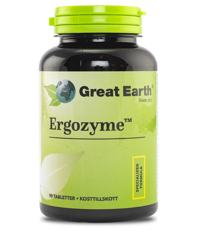 Ergozyme, Hälsokost - Great Earth