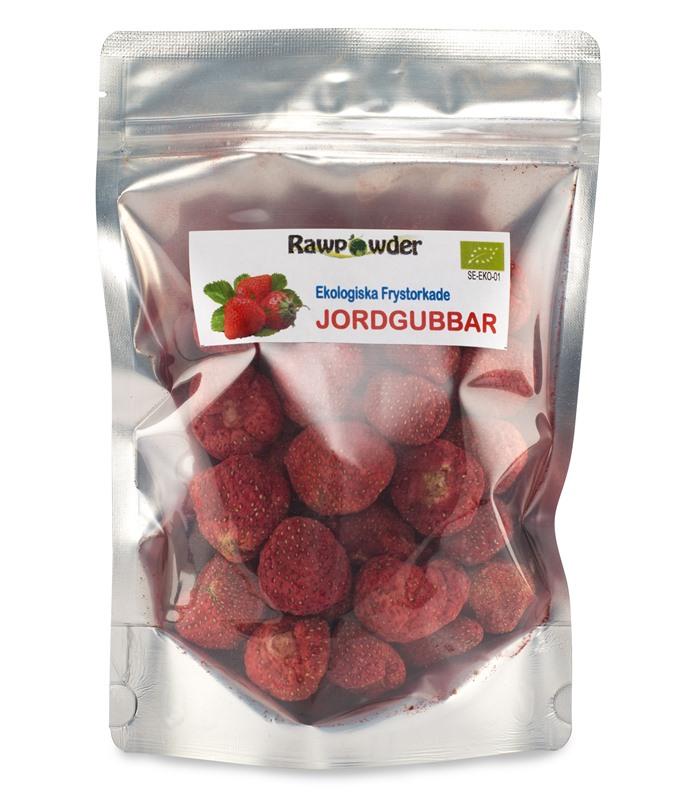 torkade jordgubbar köpa