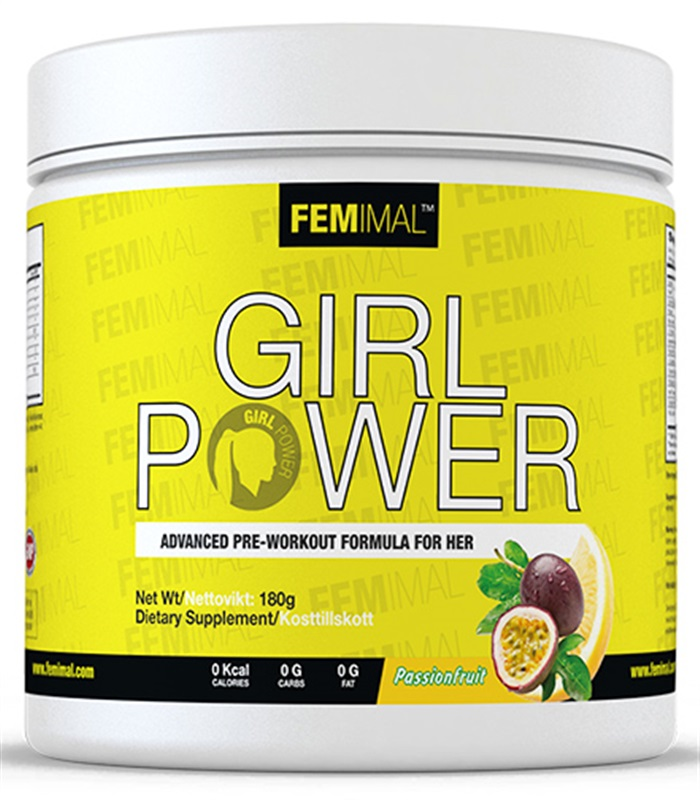 Girl Power, Muskelbyggande & Prestation - Femimal