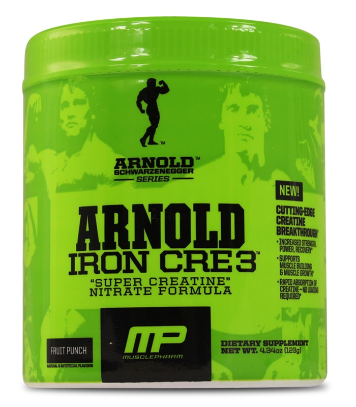 Iron Cre3, Muskelbyggande & Prestation - Arnold Series