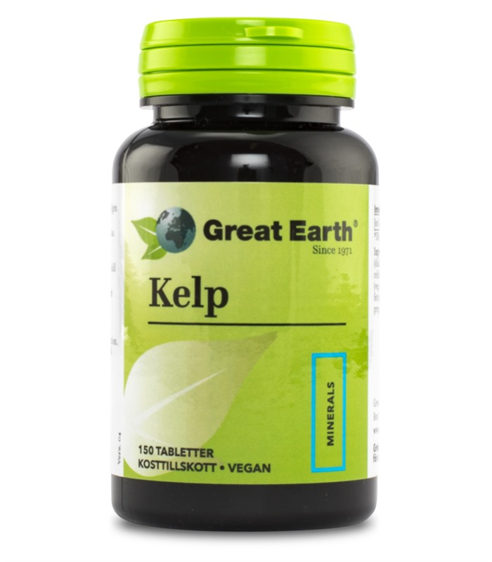 Kelp, H�lsa & Livsmedel - Great Earth