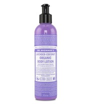 Dr Bronner Organic Body Lotion Lavender Coconut