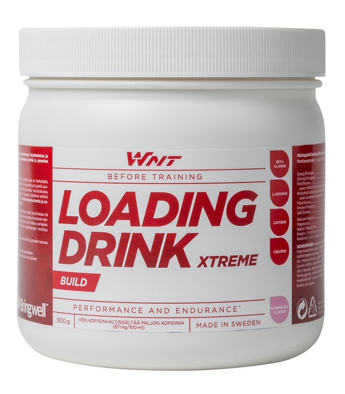 WNT Loading Drink Xtreme, Muskelbyggande & Prestation - WNT