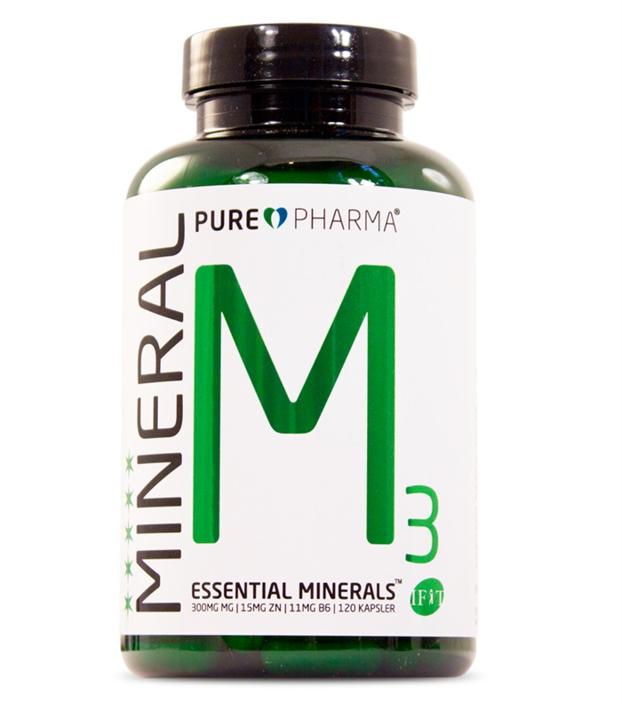 M3 Mineral, Muskelbyggande & Prestation - Pure Pharma