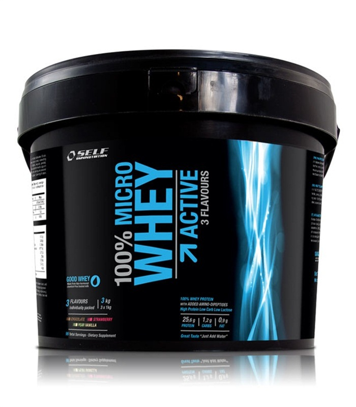 Micro Whey Active Limited Edition  - Self Omninutrition