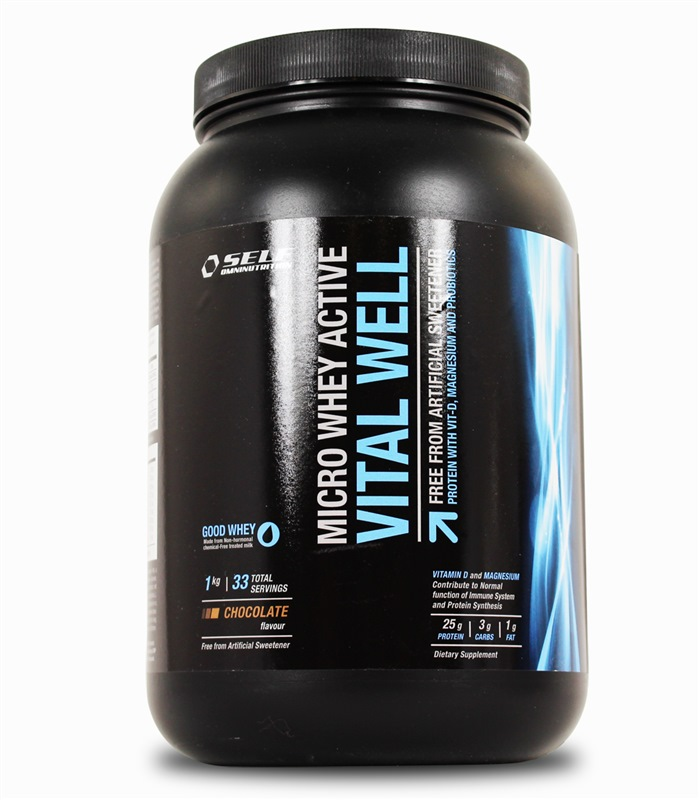 Micro Whey Active Vital Well, Näringstillskott, protein - Self Omninutrition