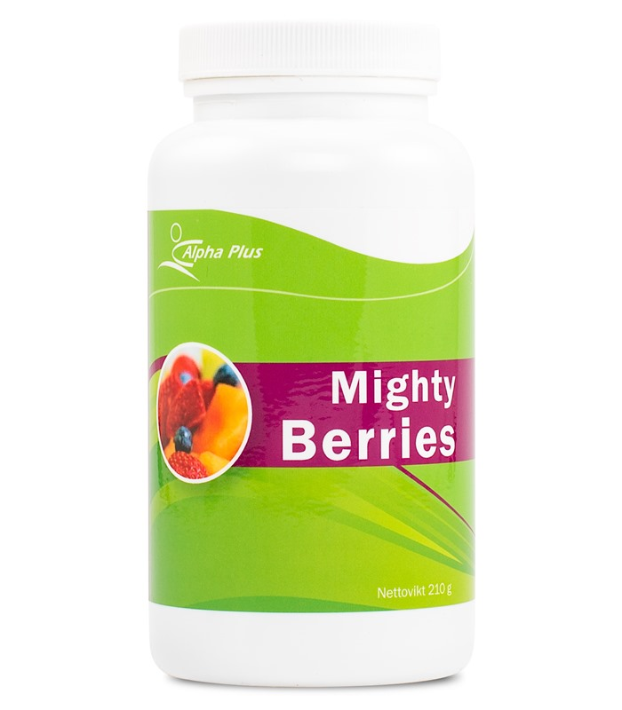 Mighty Berries, H�lsokost - Alpha Plus