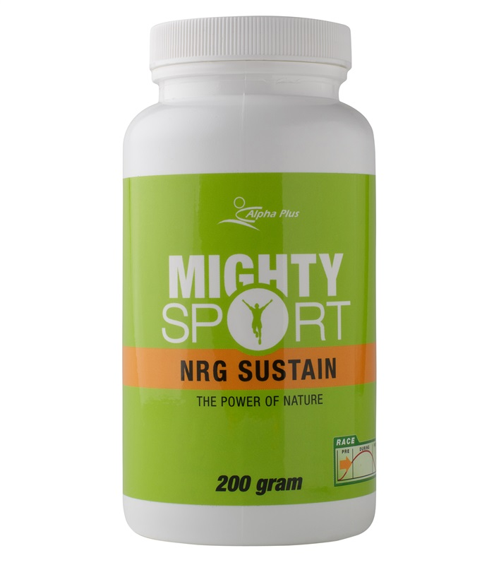 Mighty Sport NRG Sustain, Muskelbyggande & Prestation - Alpha Plus