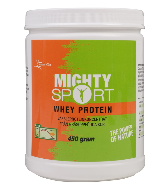 Mighty Sport Whey Protein, Fettförbränning - Alpha Plus
