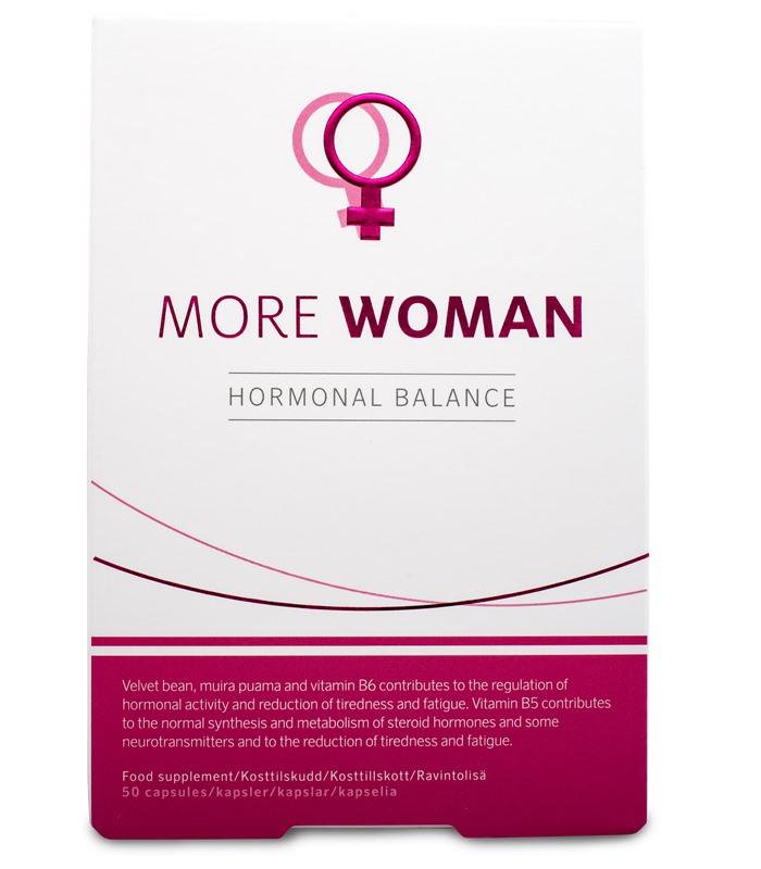 kosttillskott more woman