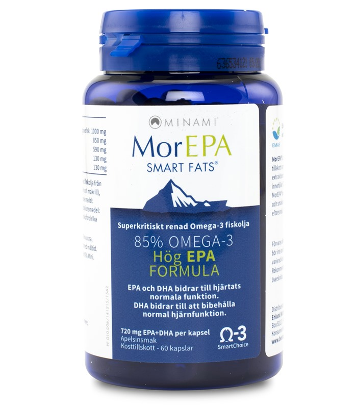 MorEPA Smart fats, H�lsokost - Enlund Nutrition